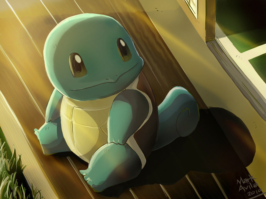 Pokemon: Squirtle by ~mark331