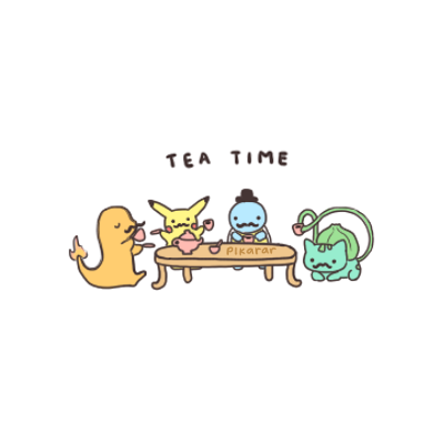 TEA TIMEEE by ~pikarar