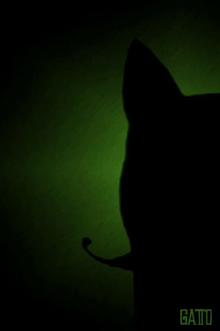 Gatto wallpaper for iphone.
