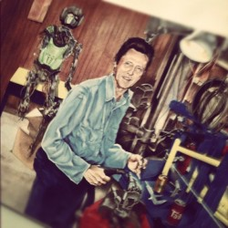 Just Christopher Walken building Optimus Prime, no big deal (Taken with instagram)