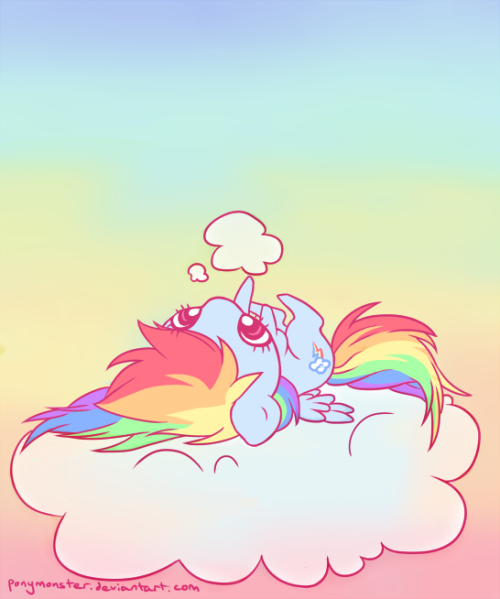 pacpony:  This cloud is so fluffy.