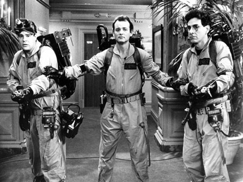 totalfilm:   Bill Murray shreds Ghostbusters 3 script Anyone hoping to see the old Ghostbusters lineup reunited for Dan Aykroyd's tortured sequel might be waiting a long time, as Bill Murray appears to have ruled out a return once and for all.