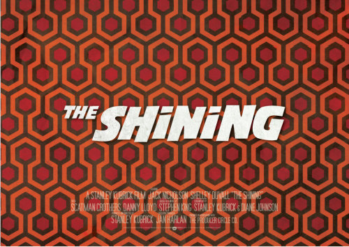 The Shining Movie poster 2011 Mario Guilherme. All rights reserved. All trademarks are the property of the respective trademark owners