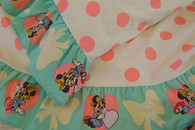 (via Vintage Disney Minnie Mouse Twin Sheet Set by vintagefrombutterfly ($50-100) - Svpply)