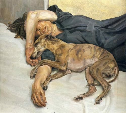 artpedia:  Lucian Freud - Double Portrait, 1985-86. Oil on canvas