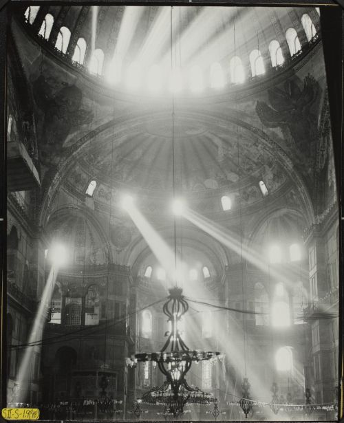 yama-bato:  Conservation of Hagia Sophia mosaics, Istanbul, 1931-1964. Study of Light. 1948 here