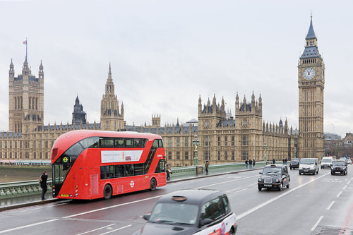 jenna:  London's Futuristic New Double-Decker Bus Hits the Streets