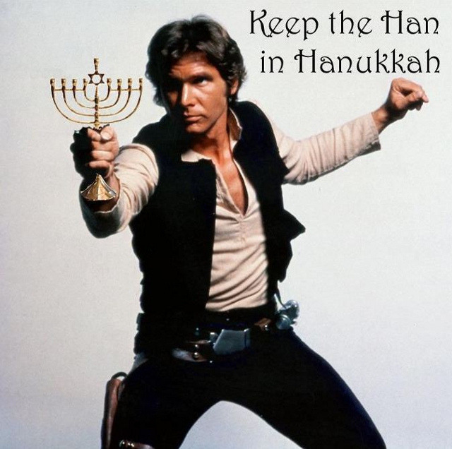 laughingsquid:  Keep the Han in Hanukkah!