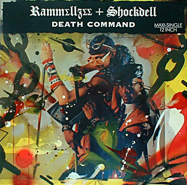 "reignofthetec:  RAMMELLZEE X SCHOCKDELL ""DEATH COMMAND""    I want this!!"