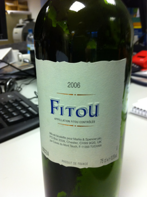 We found this bottle in the London office clear out. To think the grapes from this 2006 wine were being sunned and harvested the same year SolarAid was born. Unlike SolarAid this wine was way past it's best. If SolarAid was a wine we would say its young and fruity and its best days are yet to come!