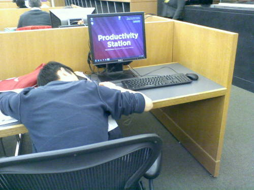 asianssleepinginthelibrary:  Oh the irony…  I'VE BEEN THERE