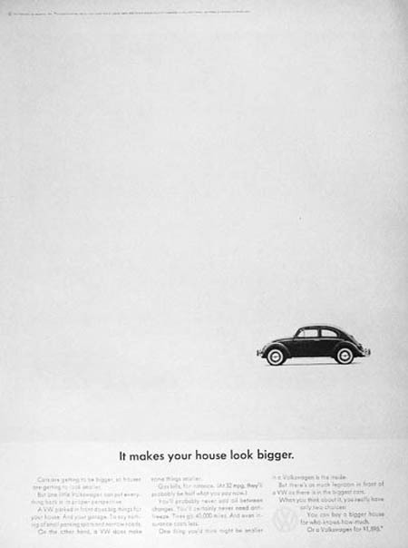 Vintage VW Advertising
