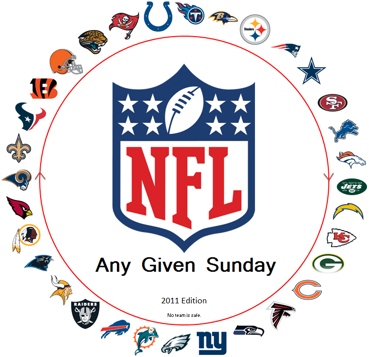 On any given Sunday…  Do you get it? Hat tip to http://crabbyscotts.blogspot.com/