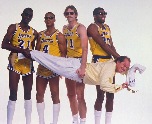 We know Jack Nicholson (pictured here with Michael Cooper #21, Byron Scott #4, Kurt Rambis #31 and Magic Johnson) will remain a loyal Lakers fan, but what about the rest of Los Angeles? The Clippers are young, exciting and ready to make a push. Are they the new kings of L.A.? JENKINS: New-look Clippers show power shifting in LALOWE: Controversy over Paul's trade not going awayJENKINS: Renewed fight for L.A. in the Pacific Division