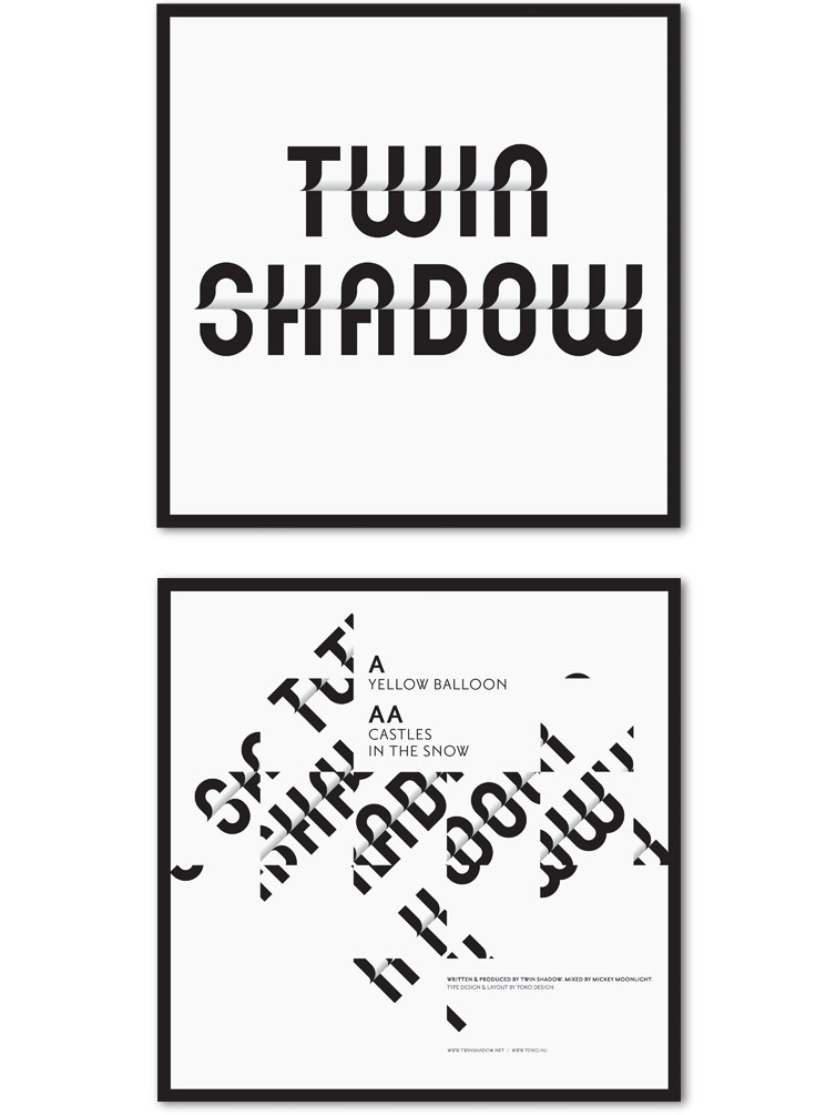 "7"" Twin Shadow album"
