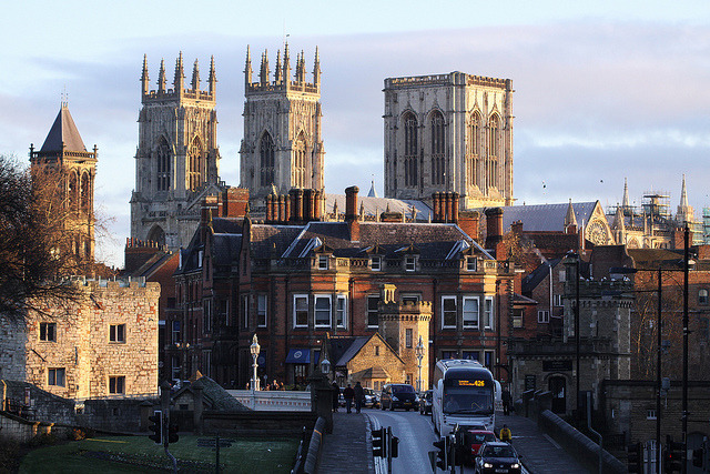 Early morning York by Wilamoyo on Flickr.