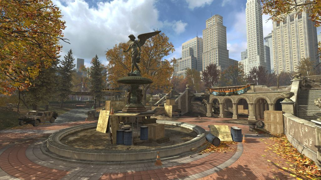 Screenshot of MW3 Map Pack, Park