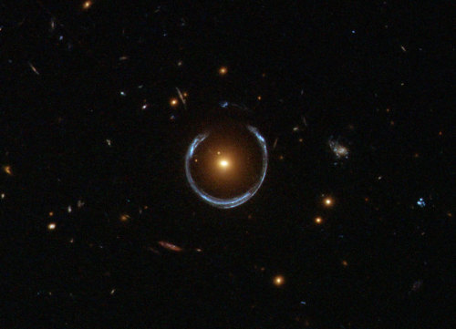 n-a-s-a:  A Horseshoe Einstein Ring from Hubble Image Credit: ESA/Hubble & NASA
