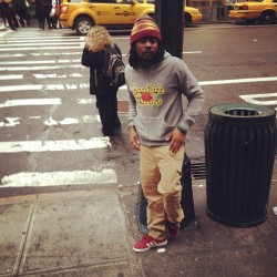 wonderwomanpower:  wale in NYC