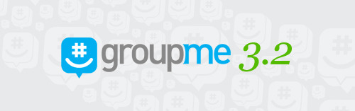 "GroupMe for iPhone and Android 3.2 It's a holiday miracle! We just released our new iPhone and Android apps to their respective markets. There are lots of little tweaks to make the GroupMe app faster and more fun, and we think you'll agree it's the best version yet. Here's what's new! Likes We've heard from a lot of you that while your GroupMe chats are hilarious and fun, they move so quickly that it's sometimes hard to remember all the best things that have happened. Some of the best messages get lost in the shuffle. That's why today, we're introducing Likes.     Now, when someone in one of your groups posts something you like, you can tap the message and then tap ""Like"". They'll get a notification that you liked their message, and it'll be saved for you in your own personal list of Likes from all your groups. Plus, the entire group will see a running total of the number of people who liked each message inline.  Team GroupMe has been using Likes for the last few weeks, and we can guarantee that they're really fun—it's a whole new dimension on top of the GroupMe experience. A note about conference calling The best thing about GroupMe is the way people use it. We've seen extraordinary use cases that continue to inspire us.  From baby deliveries to bible study groups, and the 11% of groups that are used for keeping families close, we've see GroupMe help all types of people. As the service continues to evolve, it's important that we focus on and enhance the features that people use most.  GroupMe messaging has helped bring people closer together across the globe.  In fact, push messaging within the app recently exceeded total text messages across our network. As we continue to focus on our core functionality of group messaging, we believe it's important to sunset features that are not widely utilized.  As of January 7th, 2013 we will no longer create new groups with the conference calling feature enabled. For the time being existing groups with the feature will continue to work, but we recommend that you migrate to other services for your conference calls because the feature will be entirely removed in the future. We're sorry for any inconvenience this change causes you.  Questions? We're always here to chat with you — just send us an email at support@groupme.com.  That's all for now! There's lots more cool stuff coming soon, so stay tuned—we can't wait to show you all the new things we've been working on. Now, go ahead and get the new GroupMe app for iPhone or Android! From all of us at GroupMe, happy holidays, and a happy new year!"