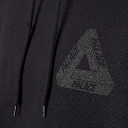 "Palace Skateboards Heavy Weight ""Tri Ferg"" Hooded Sweatshirt."