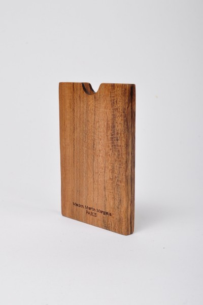 #7 - Maison Martin Margiela Wood Card Holder