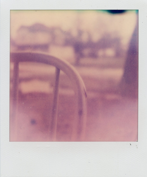 Maybe It's the Weather, Or Something Like That. Polaroid SX-70.