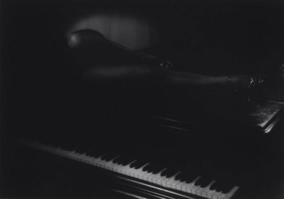 Theodore (Count) Zichy - Legs on Piano, 1948