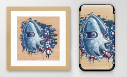 A GHOST IS BORN Prints & all generation i-cases now available. http://society6.com/TimShumate/A-GHOST-IS-BORN_Print