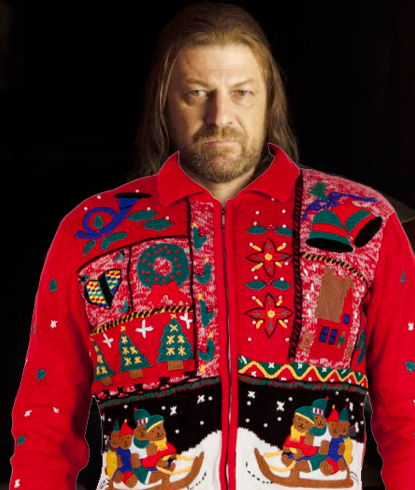 Winter is coming, make sure you have your ugly holiday sweater.