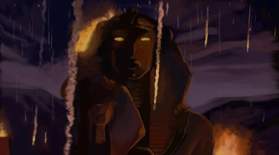 an exercise of digital painting . from The prince of Egypt, one of my favourite movie from my childhood .