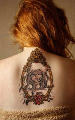 Audrey Kawasaki inspired tattoos