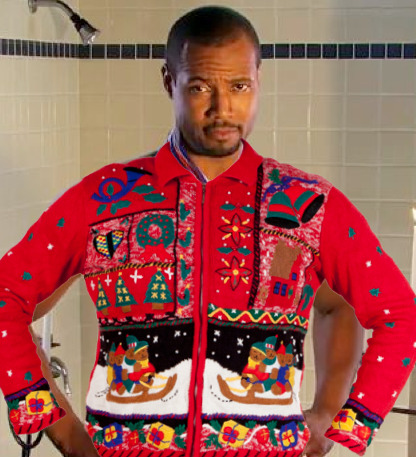This ugly holiday sweater is now diamonds!