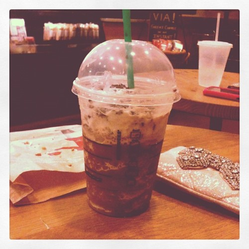 Peppermint Mocha Frappuccino (Taken with instagram)