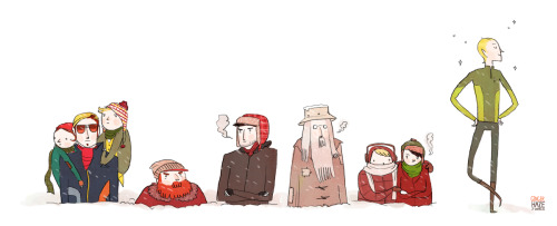 gingerhaze:  Happy Holidays from the Broship of the Ring! click for full size