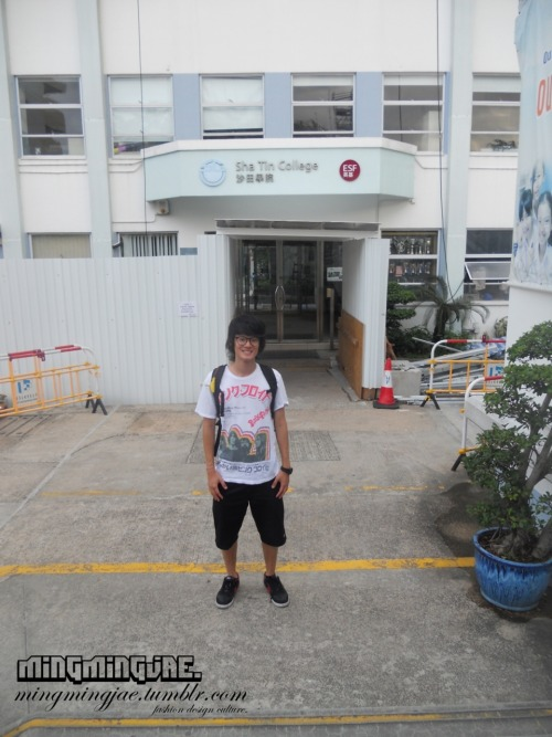 Back to Hong Kong Part 2:I visited my High School in Hong Kong- Sha Tin College with my buddies Daniel Mak and Jason Lau, but unfortunately we were unable to enter due to construction and liability issues, so i just took a picture outside.#Nostalgia