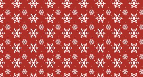 Festive Winter Vector Patterns