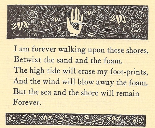 hymntohope:  Sand and Foam by Kahlil Gibran