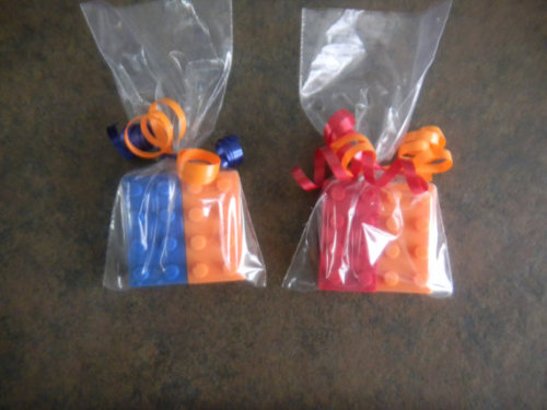 Alright, let's throw a new one out here…lego chocolate favors!