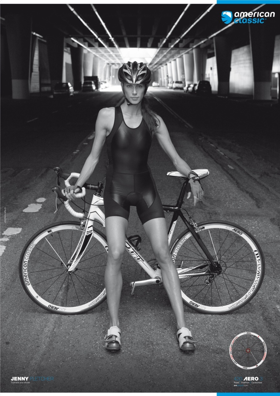 powerful image of Jenny Fletcher @JenFletchTri