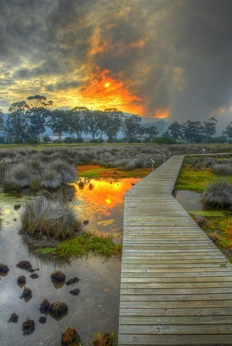 Beautiful Places Knysna Lagoon, South Africa