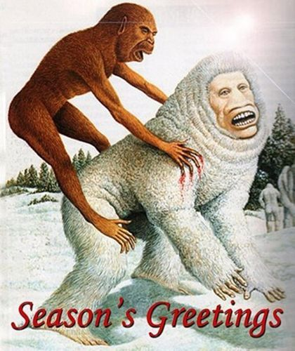 sototallyaustin:  Tis' the season… To ride a Sasquatch.  Indeed it is. 5 Winter Beauty Tips So You Don't Look Like a Female Sasquatch