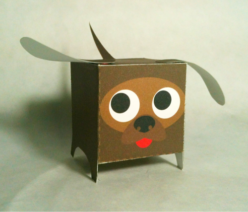 12.21.11 ~ 355/365 Paper Box World: Dog template: http://paperboxworld.weebly.com/the-boxes.html