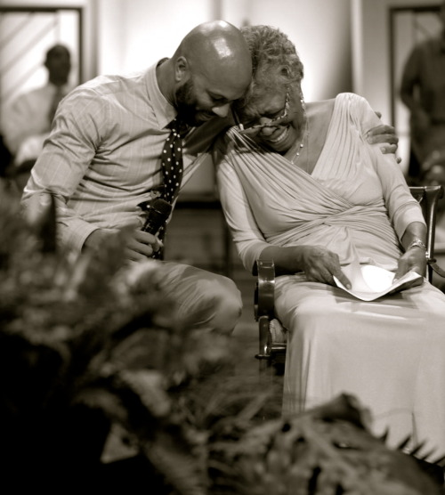 mansourkaty:  Maya Angelou & Common