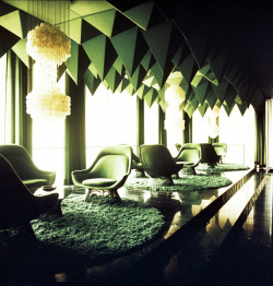 Interior Design by Vernor Panton 1960s