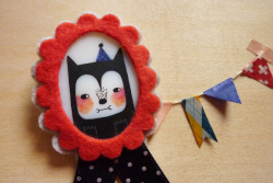 New handmade brooches are available in my ETSY :)
