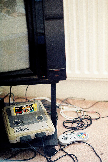 koolaidandskittles:  Super Nintendo by cboakes on Flickr.