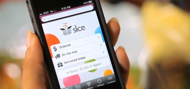 "Online order tracking tool for gift recipients Slice is a California-based company that enables customers to view, track and organize their online purchases from different retailers, in one place for free. For the Christmas season they have launched an additional ""Track with Friends"" feature that allows users to send personalized notifications to gift-recipients, so those with gifts on the way can track their present without knowing what it is or how much it cost. READ MORE…"