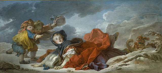 necspenecmetu:  Jean-Honore Fragonard, Winter, c. 1755
