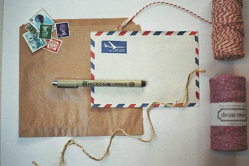 Paper ephemera (by Marlous Anne)